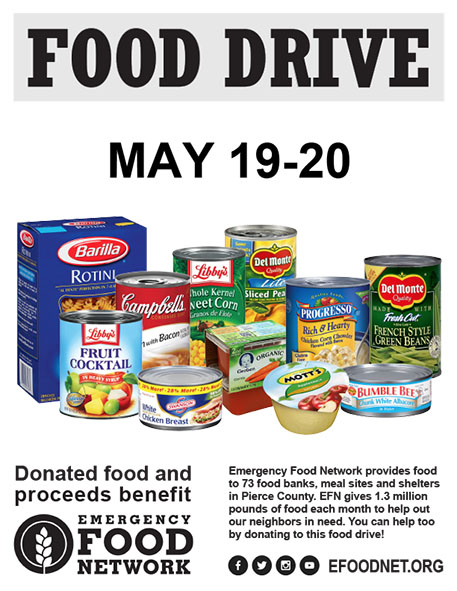 Emergency Food Drive Poster