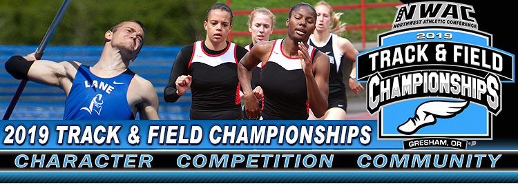 NWAC Track & Field Championship page header