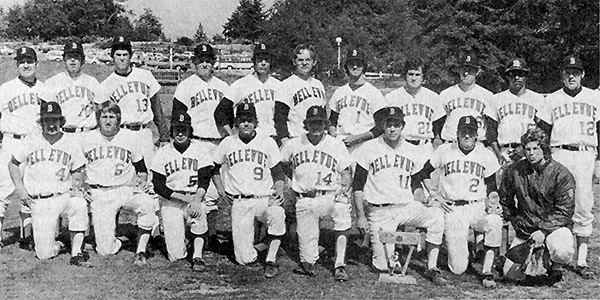 photo of Bellevue College 1973 Men's Baseball