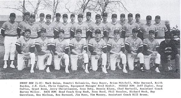 photo of Linn-Benton Community College 1988 Baseball