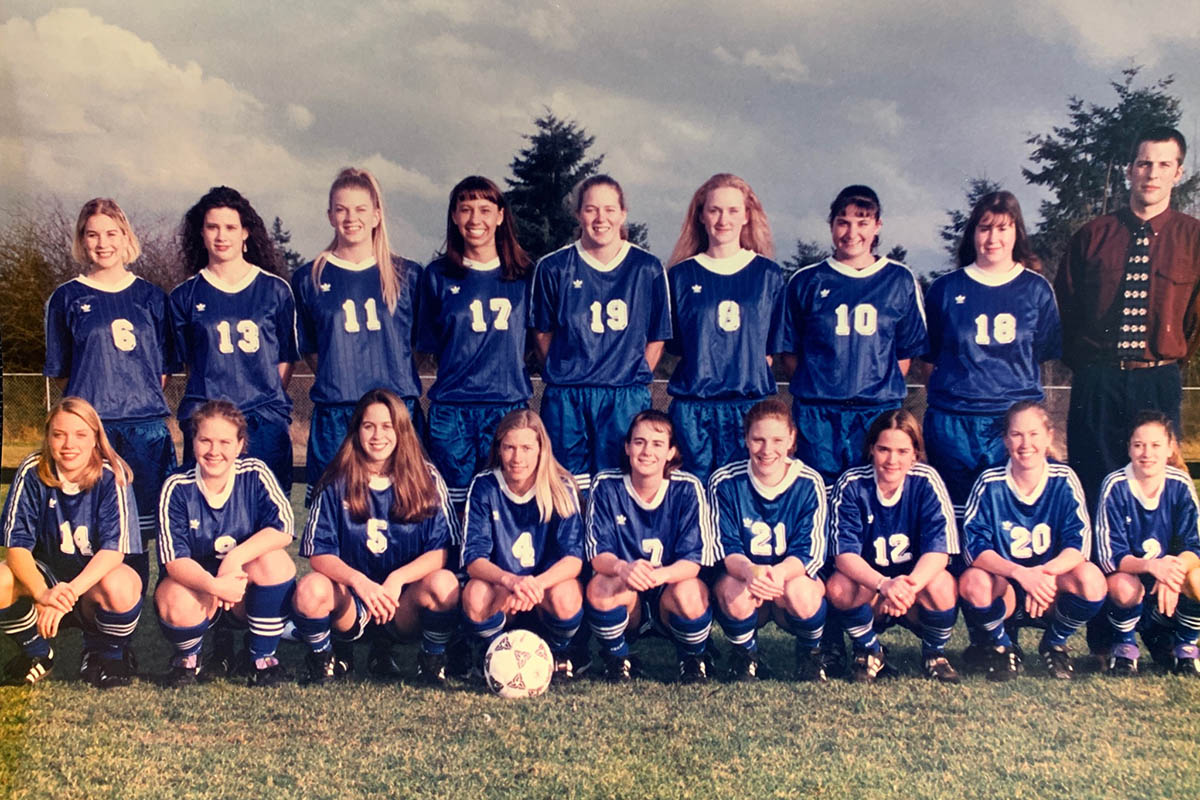 photo of Tacoma Community College 1996 Women's Soccer Team