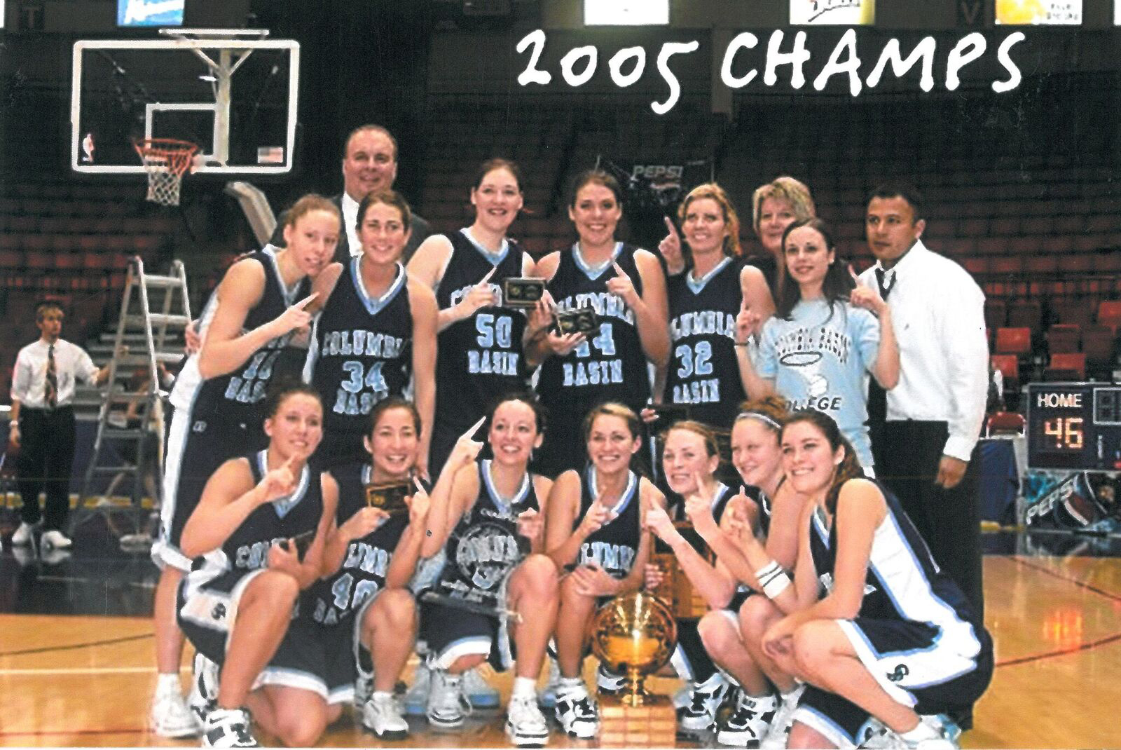 photo of Columbia Basin College 2004-05 Columbia Basin Women's Basketball