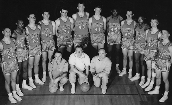 photo of Columbia Basin College 1964 Basketball Team