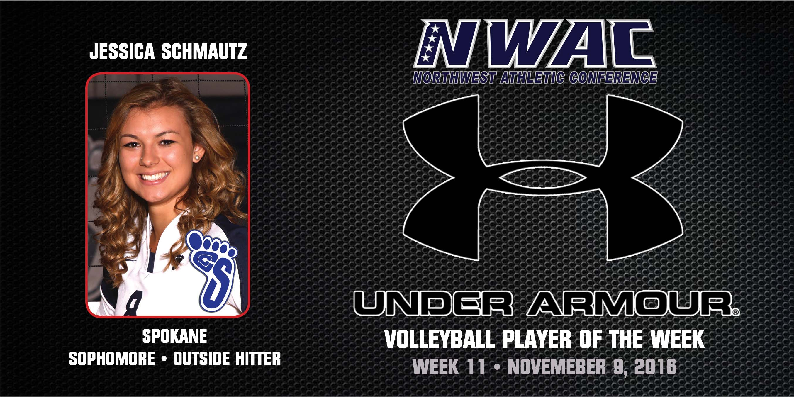 Jessica Schmautz Under Armour Player of the Week