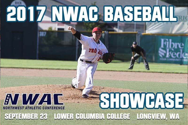 2017 NWAC Baseball Showcase Graphic