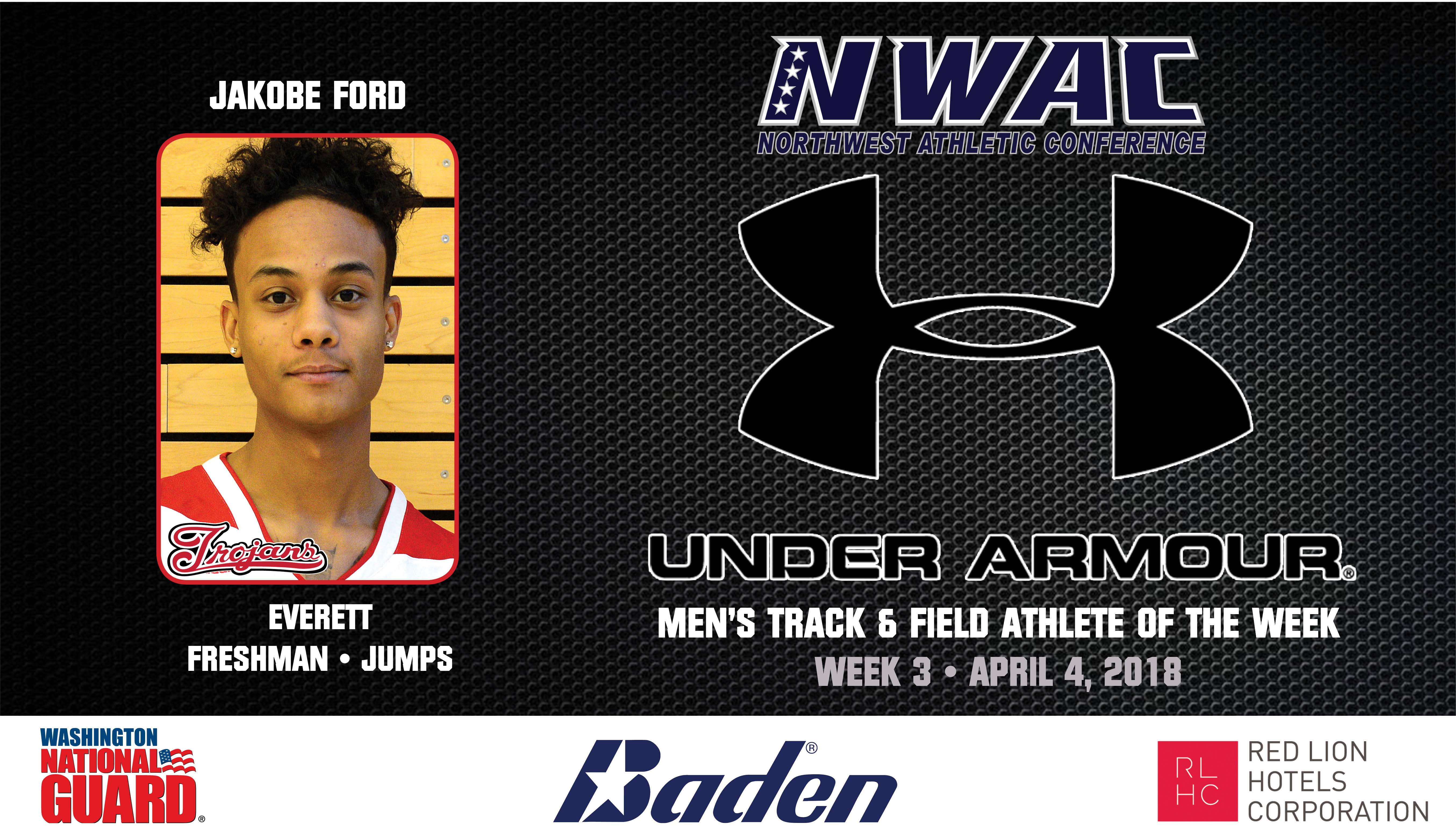 Jakobe Ford Under Armour image