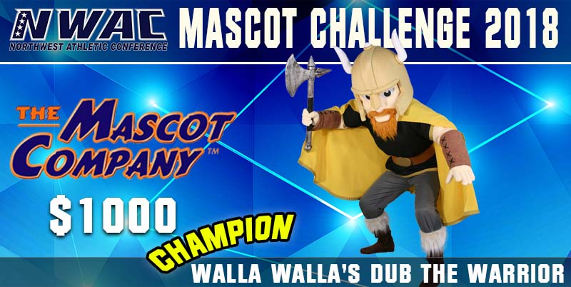 2018 Mascot Challenge Champion Photo - Walla Walla's The Warrior