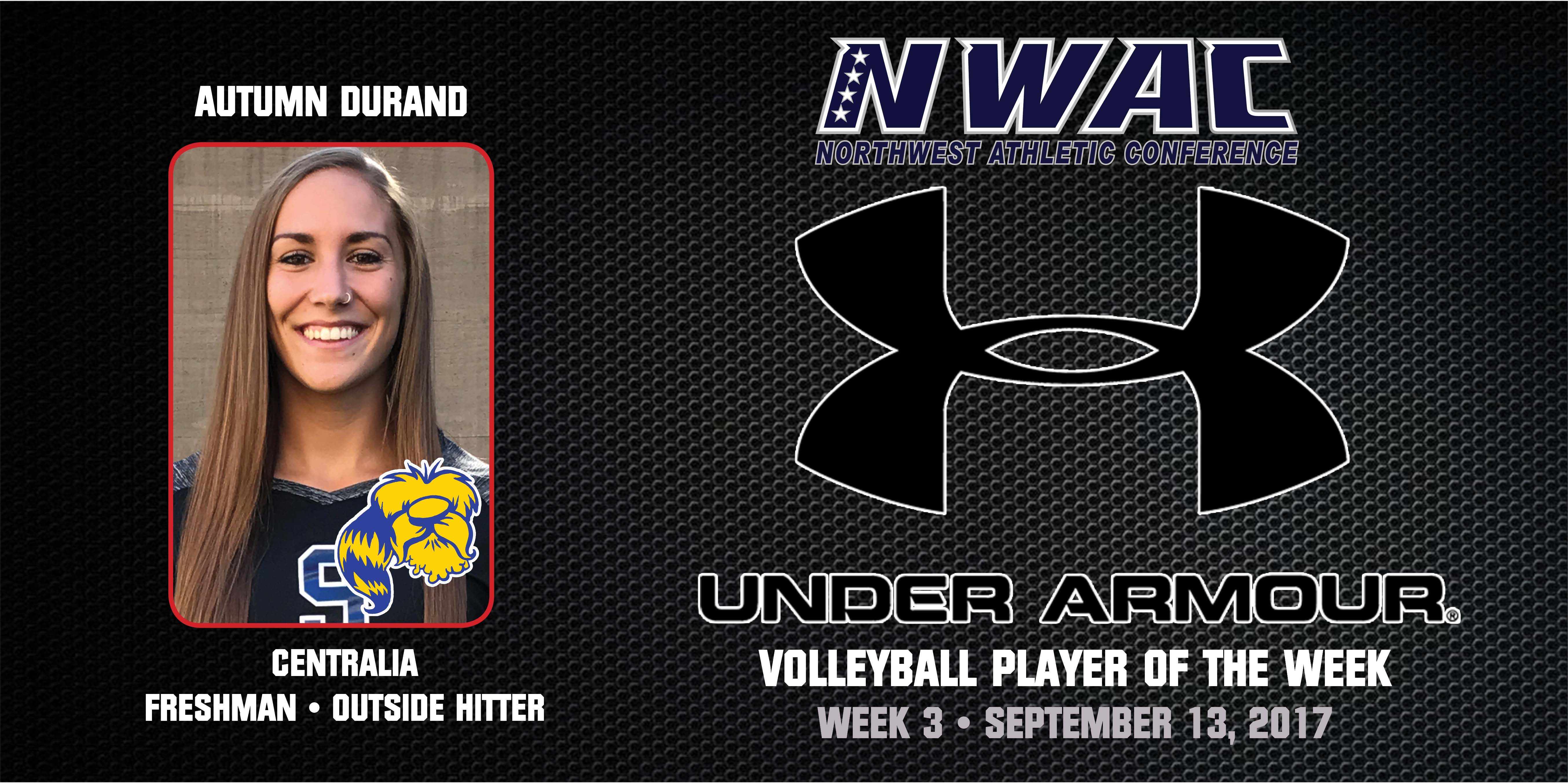 Autumn Durand Under Armour Player of the Week