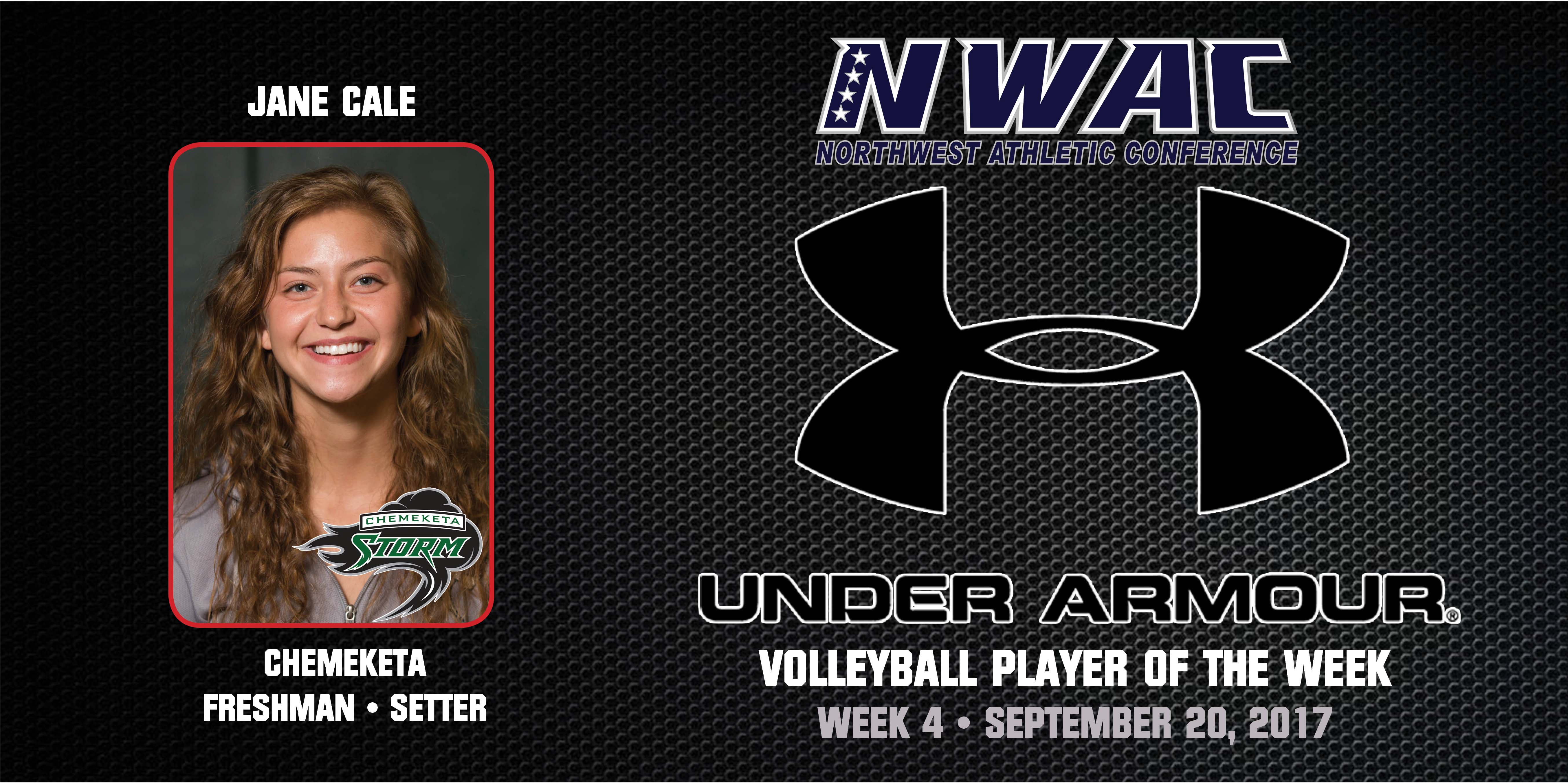 Jane Cale Under Armour Player of the Week