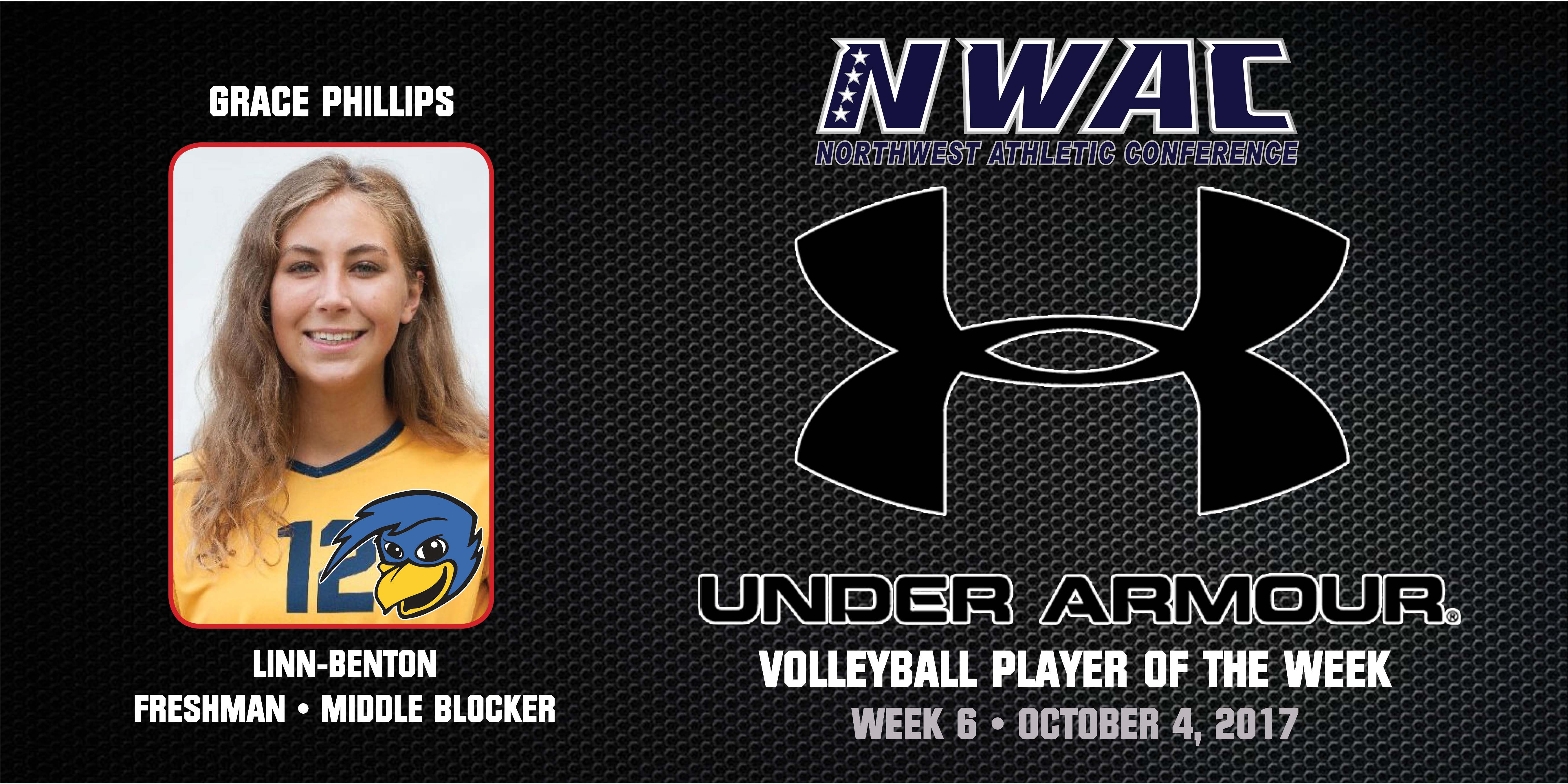 Grace Phillips Under Armour Player of the Week