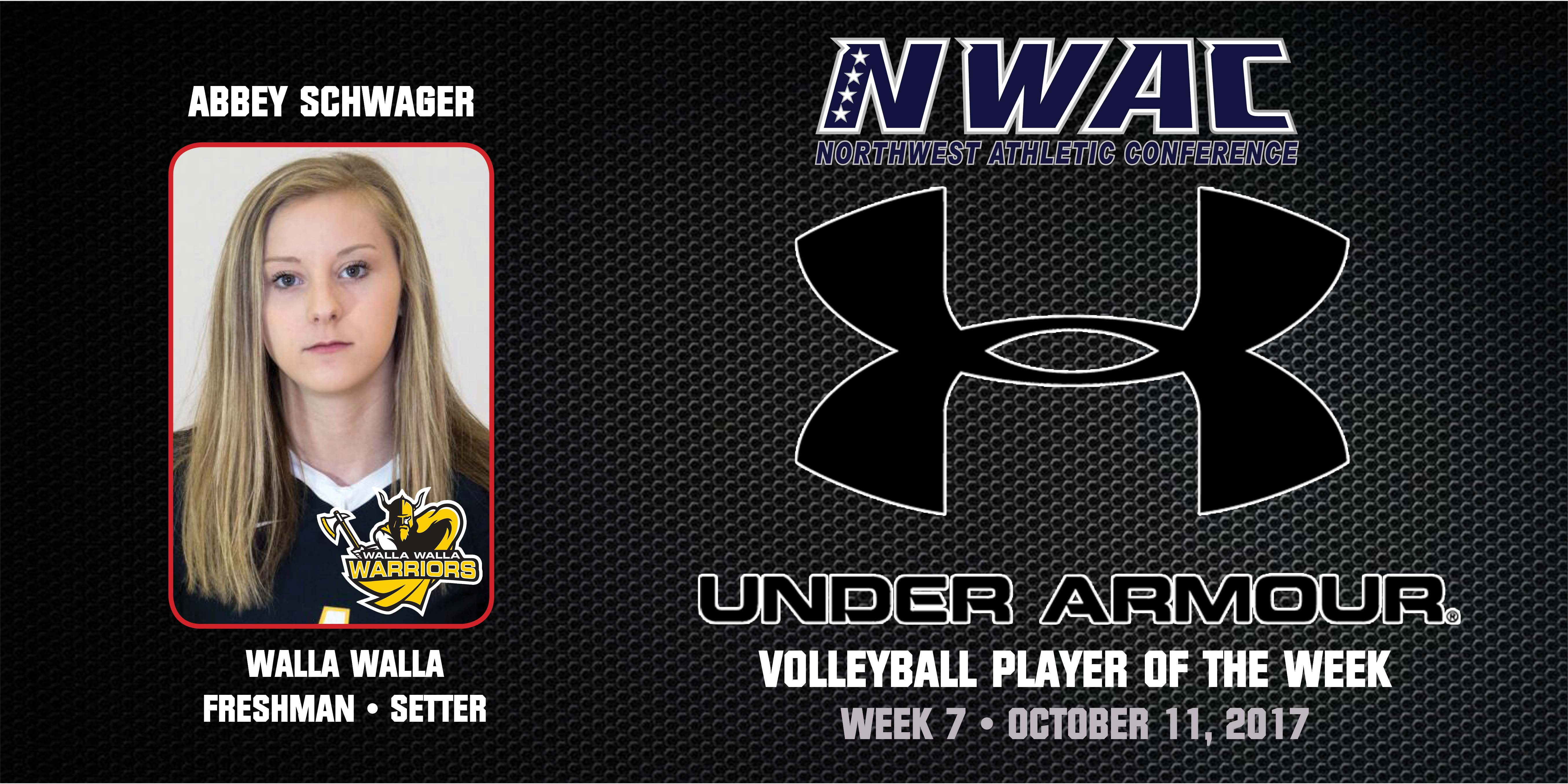 Abbey Schwager Under Armour Player of the Week