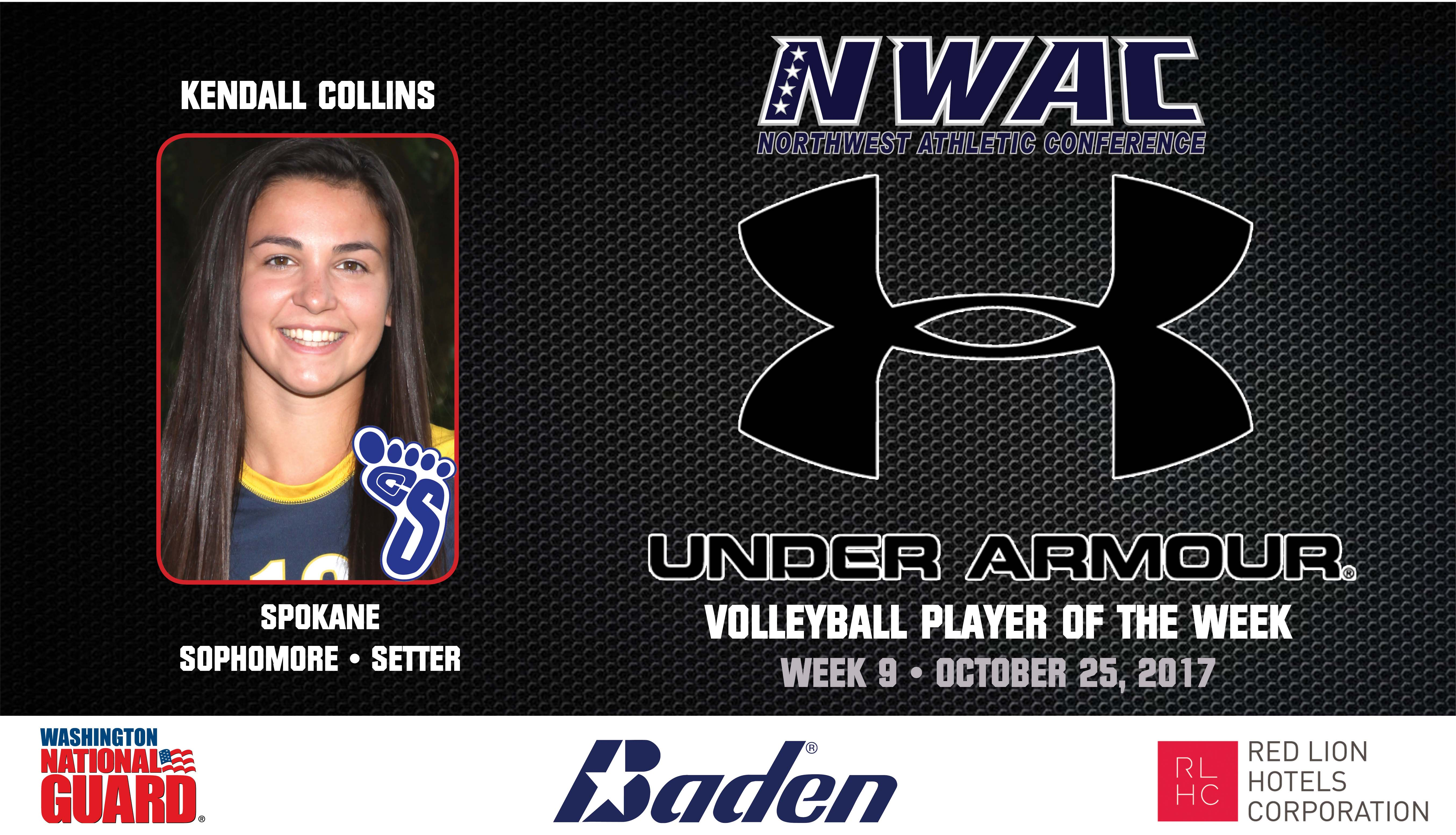 Kendall Collins Under Armour Player of the Week