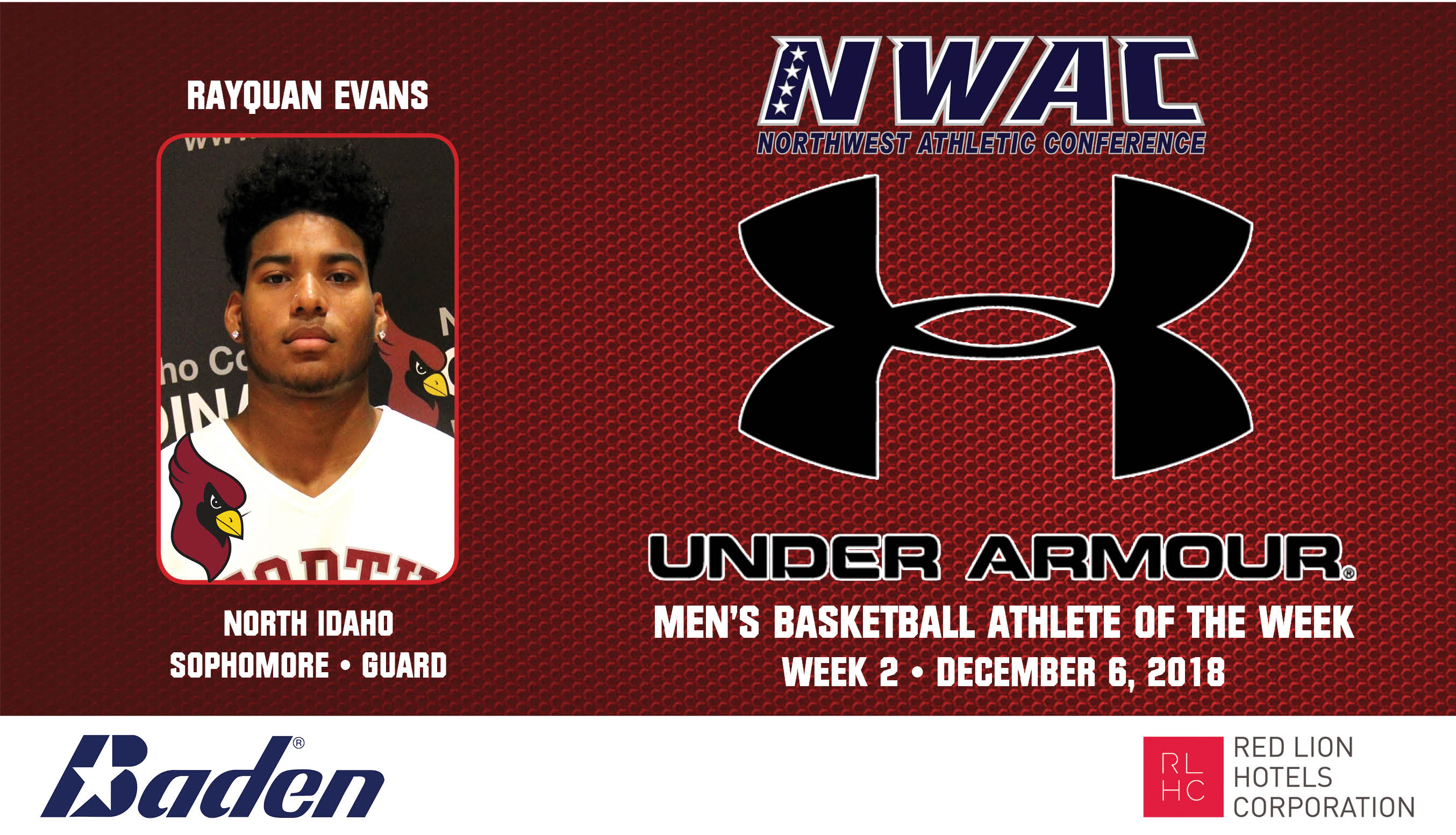 RayQuan Evans Under Armour photo