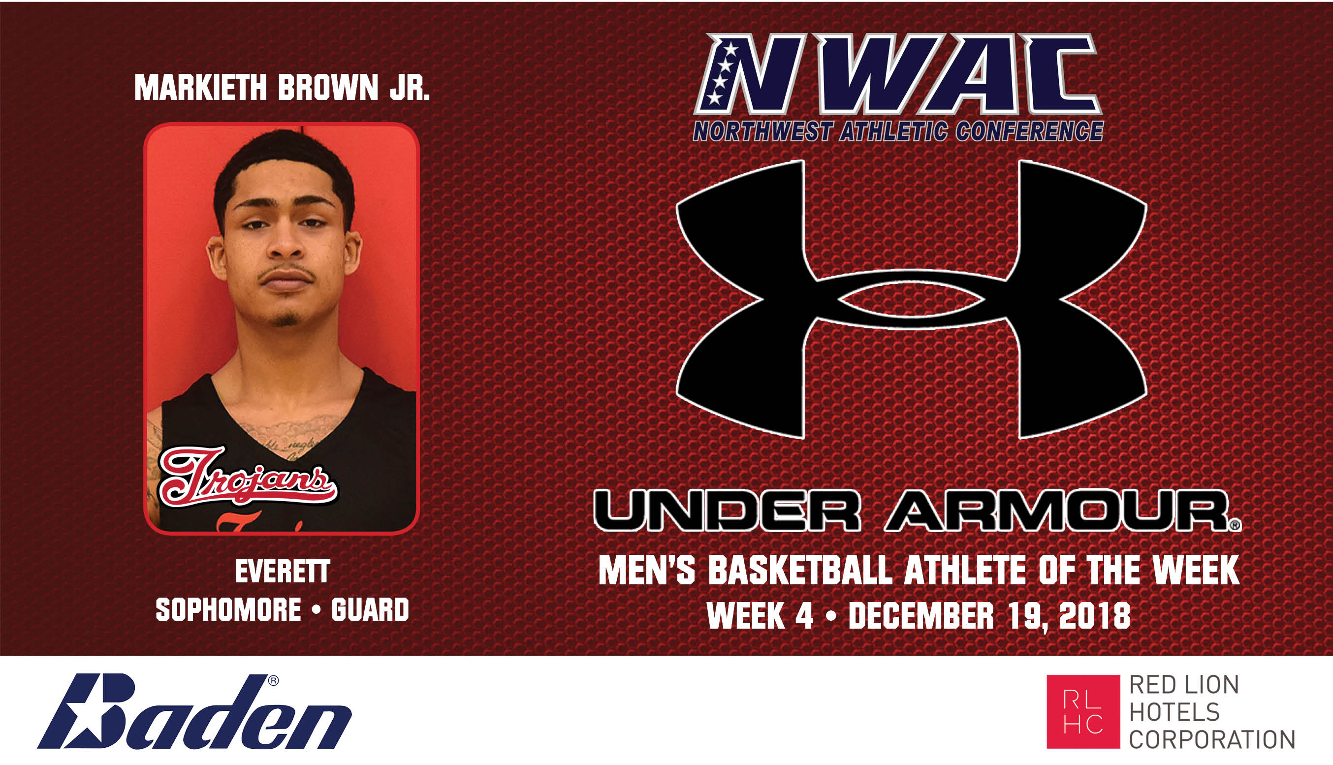 Markieth Brown Jr Under Armour photo
