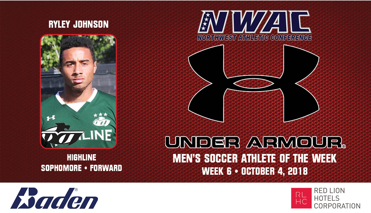 Ryley Johnson Armour Player of the Week graphic