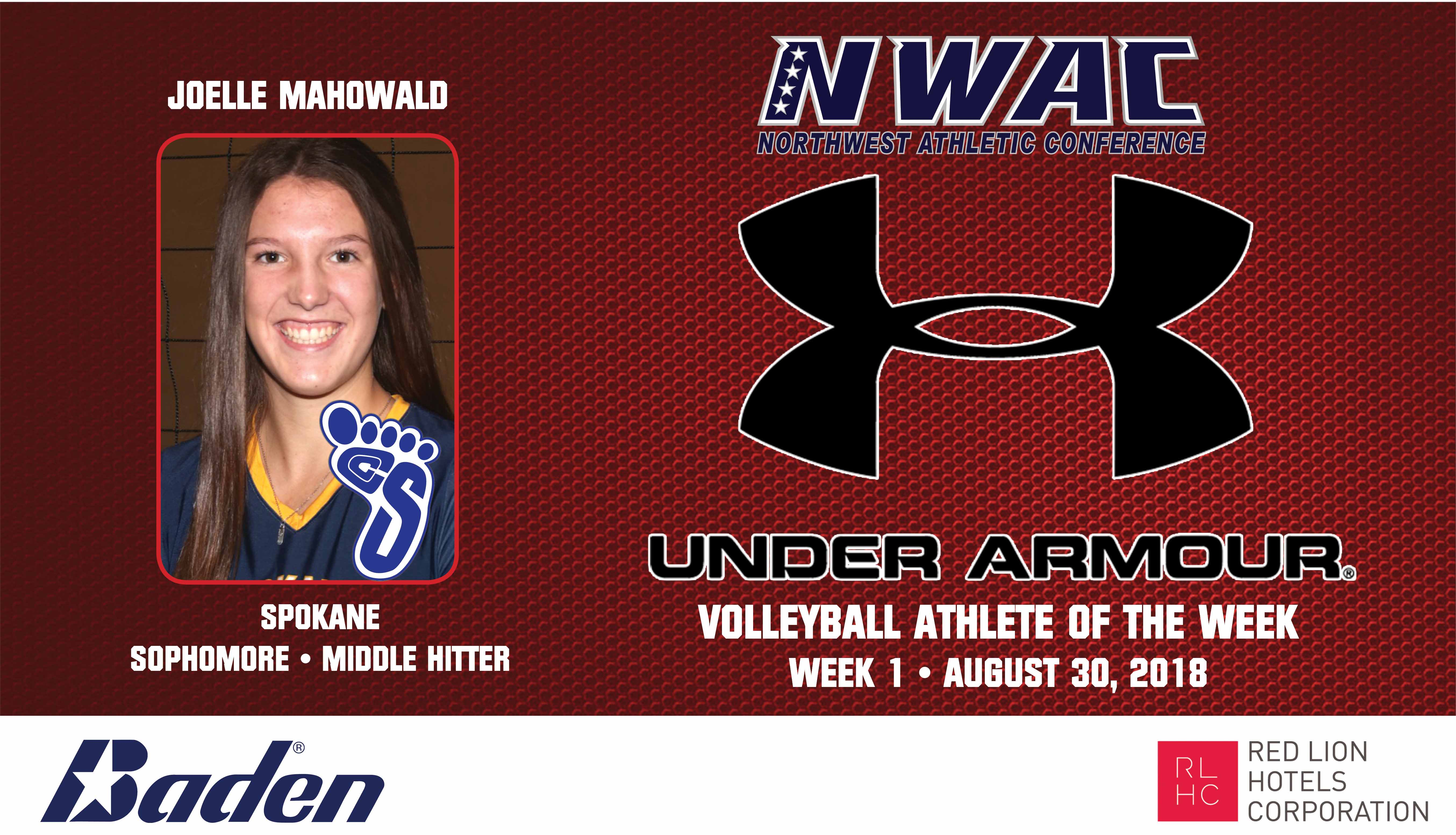 JOELLE MAHOWALD Under Armour Photo Banner