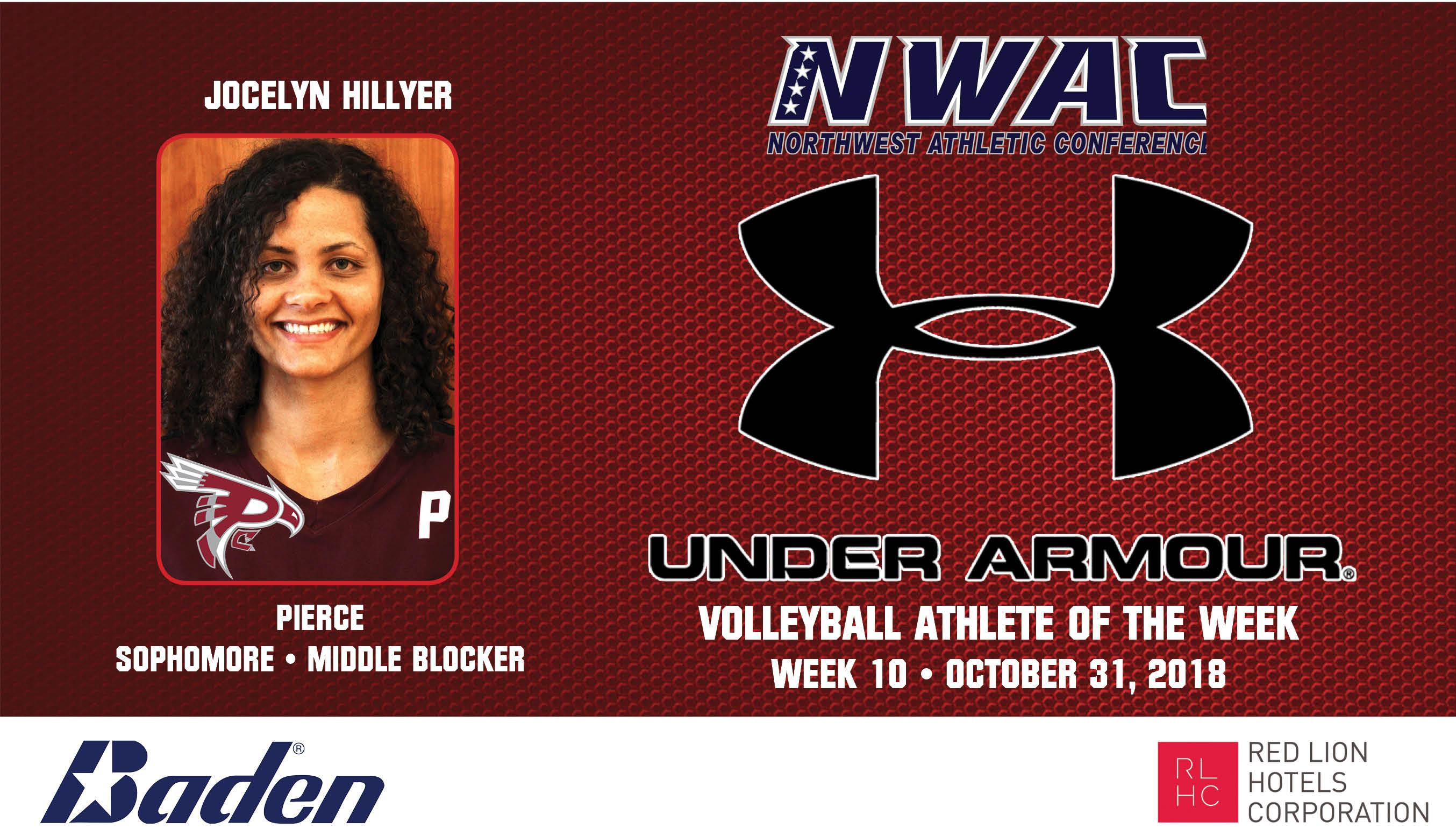 Jocelyn Hillyer Under Armour Photo Banner
