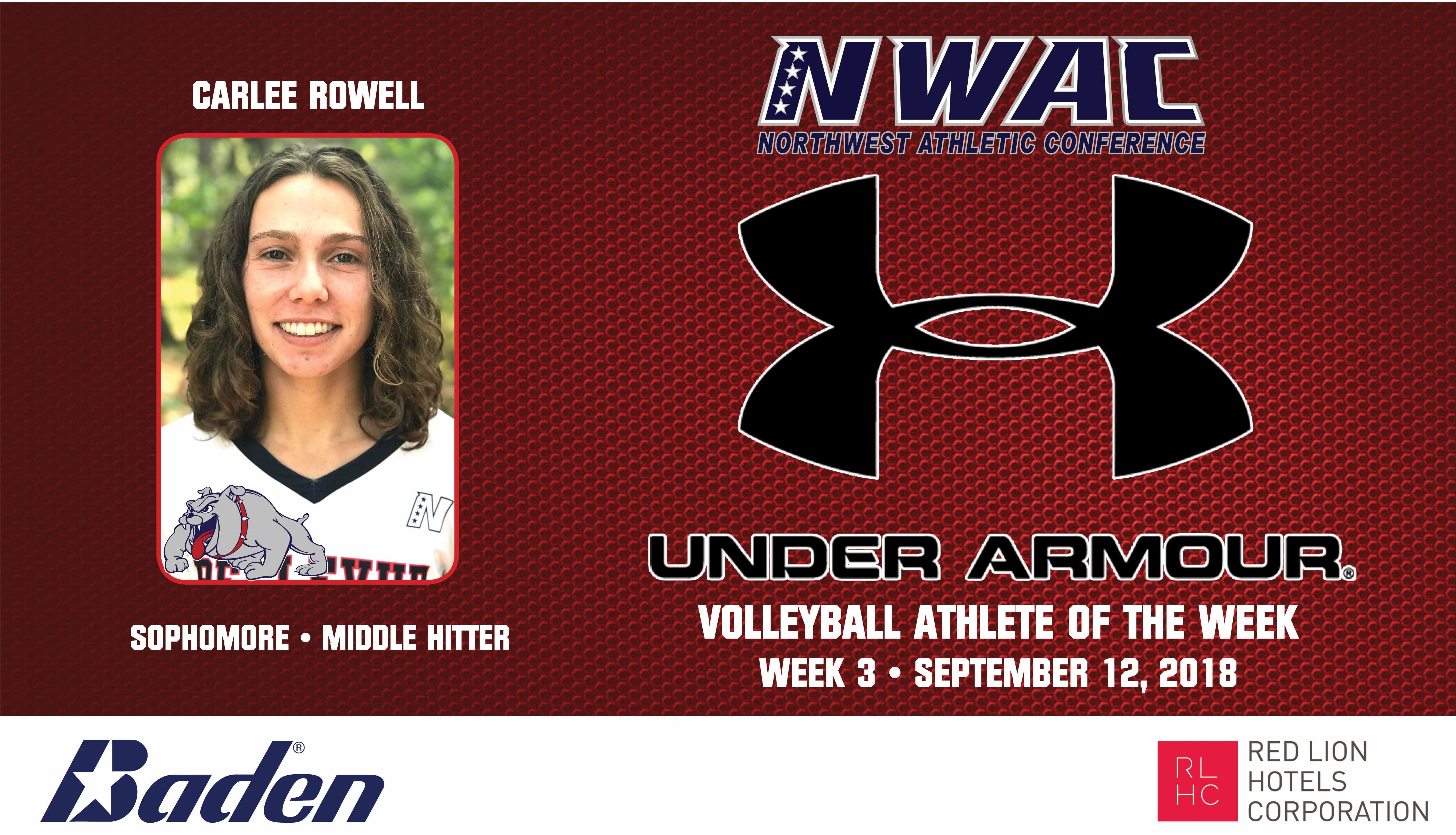 CARLEE ROWELL Under Armour Photo Banner