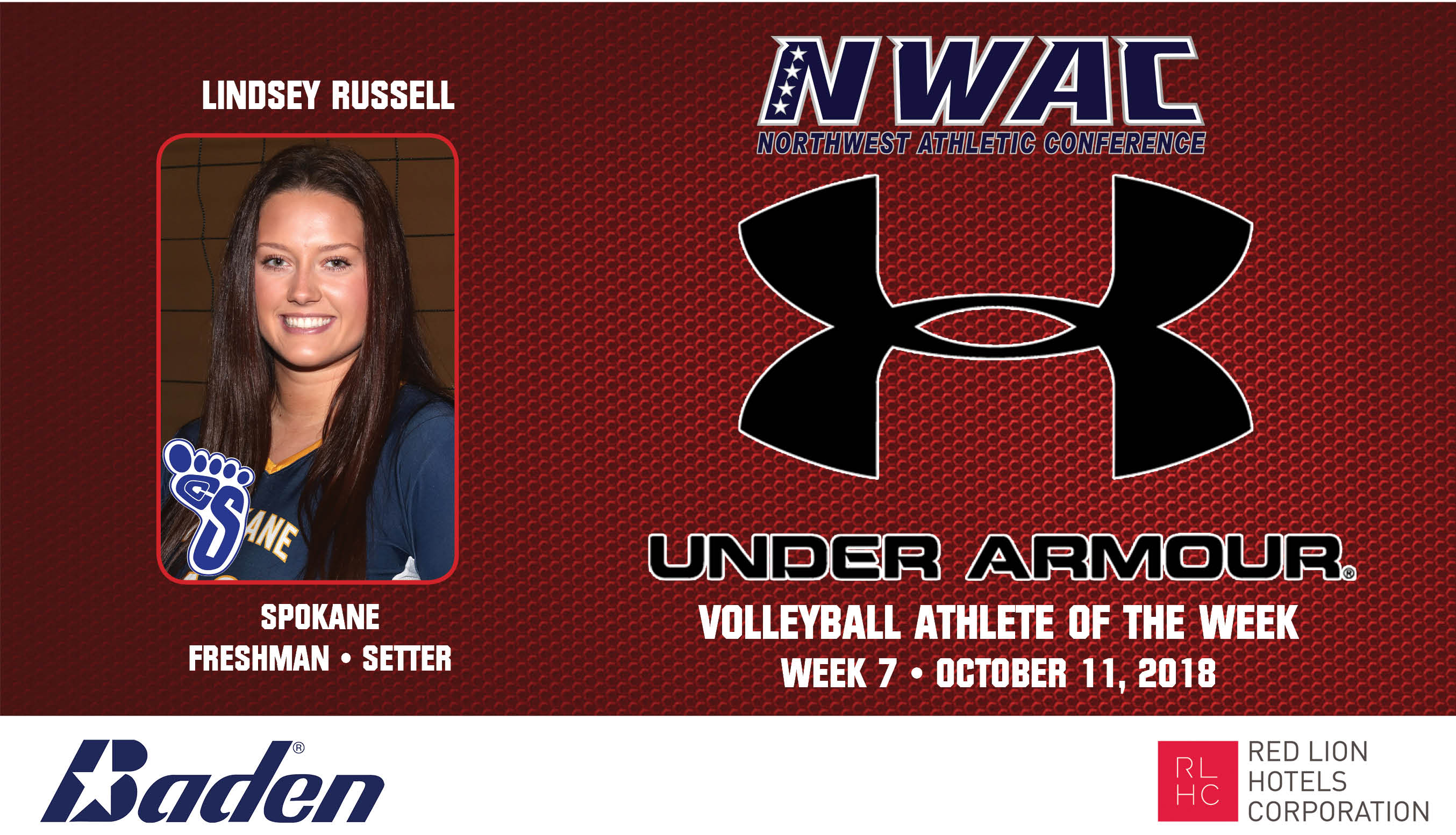 LINDSEY RUSSELL Under Armour Photo Banner