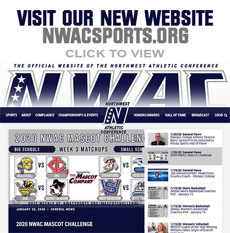 NWAC has a new site: Click here to visit nwacsports.org